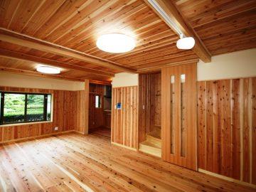 鉄筋コンクリート住宅を自然素材住宅に