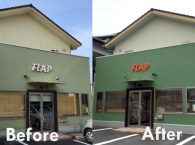 富士宮市FLAP様外壁塗装