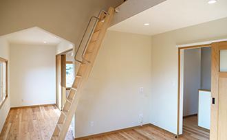 旧家の2階をロフト付にリノベーション